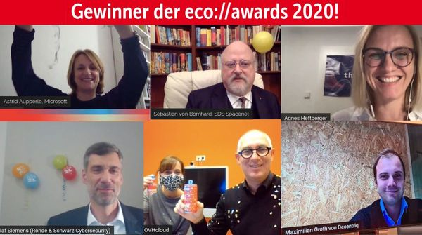 "Decentriq wins ""Startup"" category at eco:// award 2020"