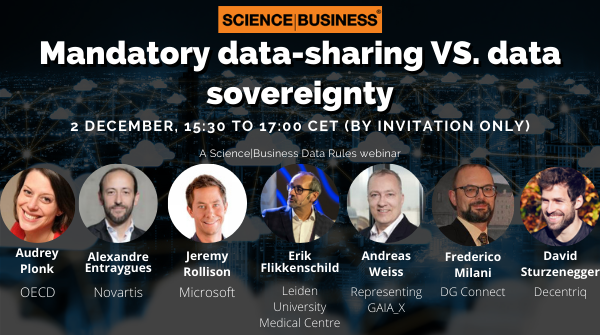 [Webinar] Mandatory data-sharing versus data sovereignty